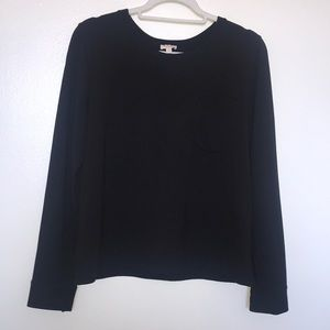 Cuyana French Terry Pleat-Back Sweatshirt